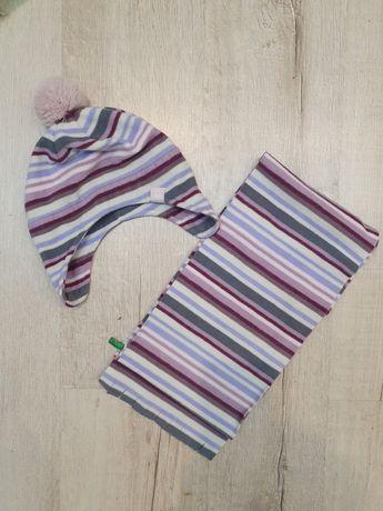 Набор шапка и шарф Benetton для девочки