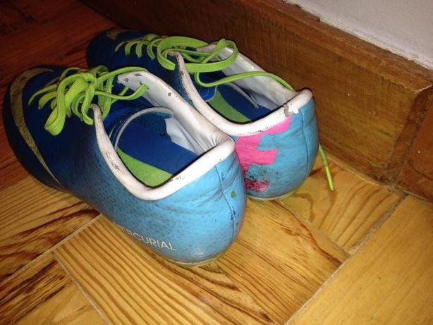 Chuteira Nike Mercurial Azuis