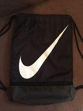 Plecak worek sportowy Nike czarny