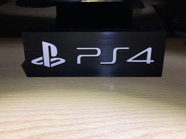 Czarna podstawka pod gry PS4