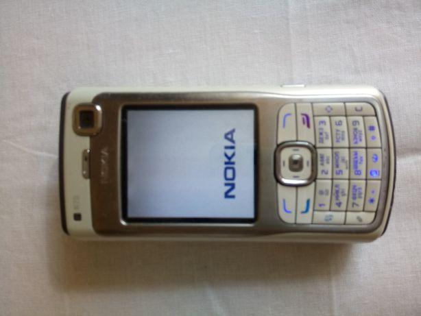 Nokia n70 серебристая