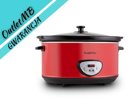 Wolnowar garnek elektryczny Slow Cooker czerwony 6,5L 320W 300614