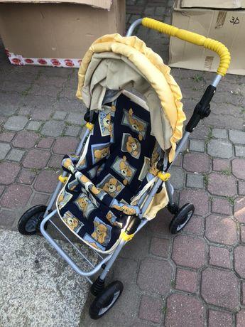 Wózek spacerowy dla lalek, składany