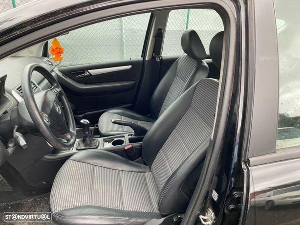 Mercedes Classe A (W169) 200cdi Interior bancos forras plásticos fole forro pele tubo
