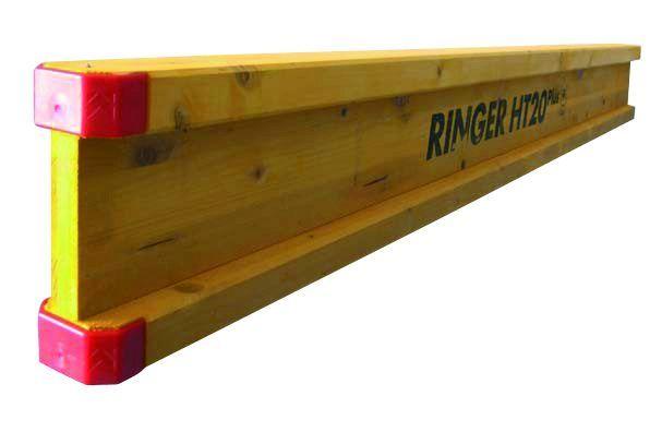 Dźwigar drewniany H20 okuty, szalunki