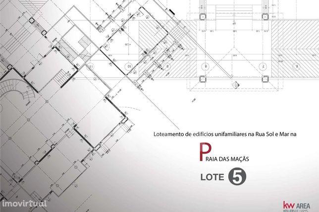 Lote 5 De Terreno Para Construção - 300 Metros Da Praia - Sintra - Ofe