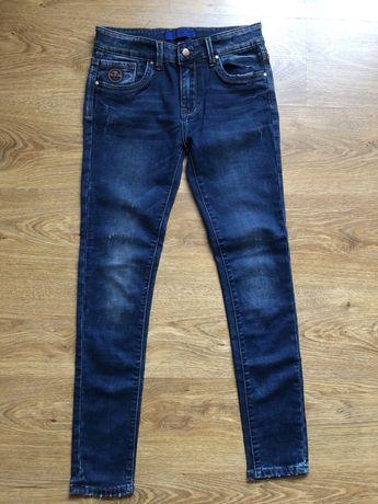 Jeansy chłopięce rozmiar 16
