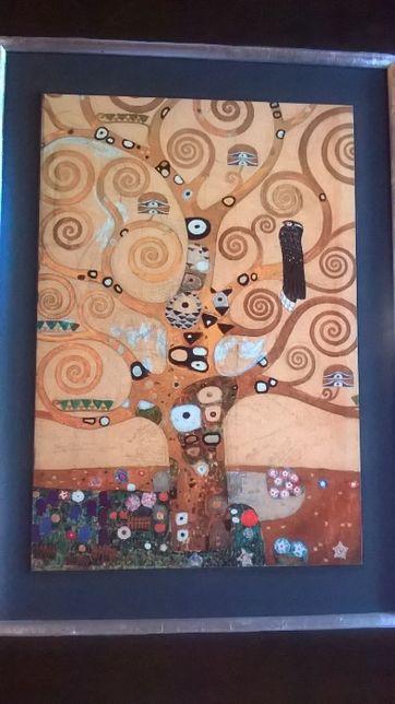okazja!Gustav Klimt-Pocałunek,Drzewo życia,Pocałunek