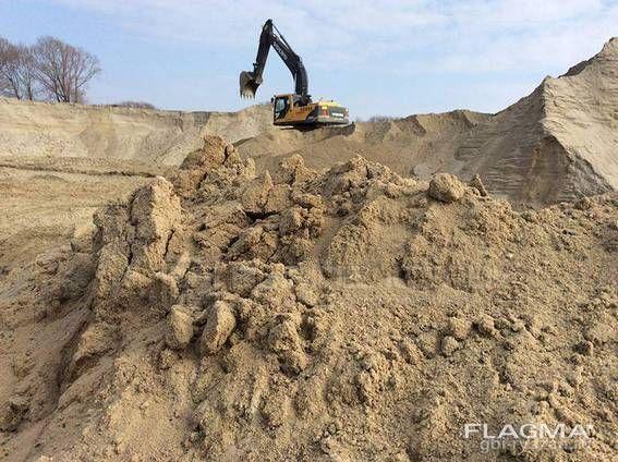 Песок, глина, щебень, отсев, строймусор, жерства продам