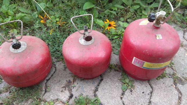 Małe butle gazowe