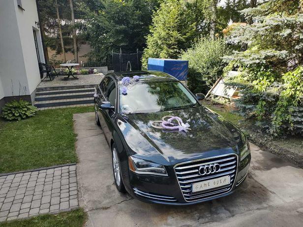 Auto do ślubu AUDI A8 D4 Long. Super wygodne!!