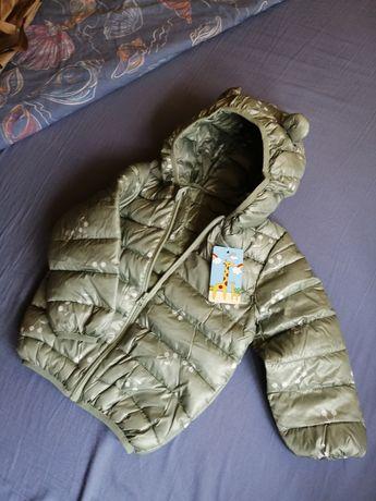 Куртка демі для дівчинки