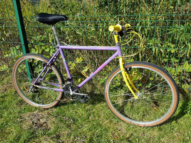 Gravel rower Raleigh crmo retro MTB 26 cali deore dx cro-mo
