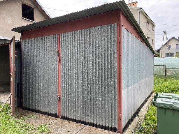 Sprzedam garaż blaszak z grubej ocynkowanej blachy 3 x 5m ocynk