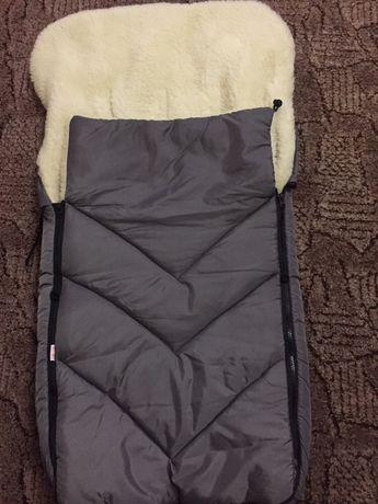 Зимний мешок в санки коляску