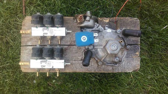Газовый редуктор TOMASETTO,4-го покаления,и форсунки