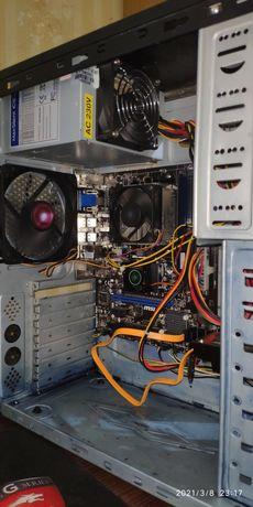 Офисный системный блок ПК MSI 760gm-p23(fx) AM3+ 4 гига