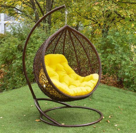 Подвесное кресло VIP кокон -Веста ЮМК. Наложка. Качель садовая.