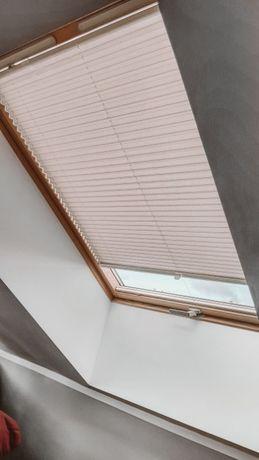 PLISY rolety na okna dachowe, na wymiar. Zaciemniające TERMOIZOLACJA