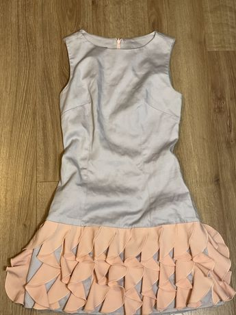 Sukienka lou falbanki
