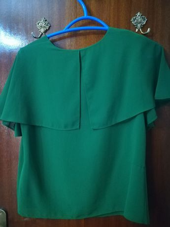 Camisa Mango Verde