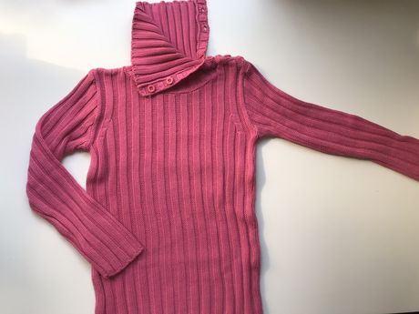 Bawełniany sweterek roz 6-7 lat
