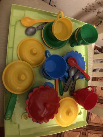 Детская посуда. Магазин. Кухня