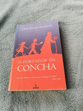 """Livro """" O portador da Concha"""""""