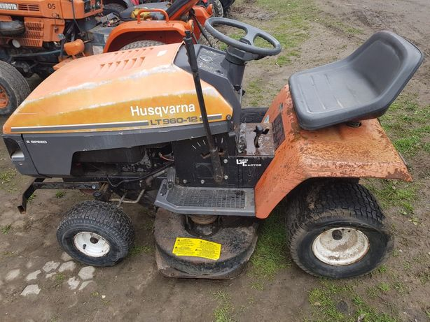 Traktorek Kosiarka Husqvarna LT960-12 Kompletna Briggs 12.5hp