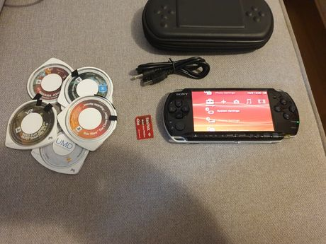 Playstation portable psp 3000 gry