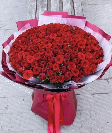 Квіти. Троянди. Букети.