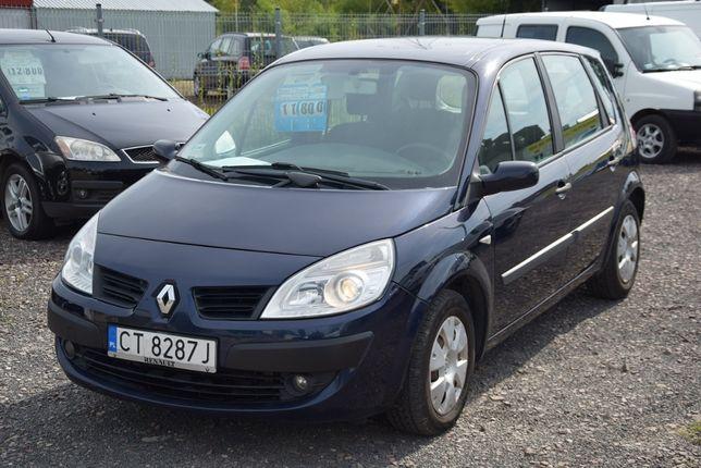Renault Scenic 2008r. 1.5dci 86KM Klima Tempomat Zarej. w PL KREDYT
