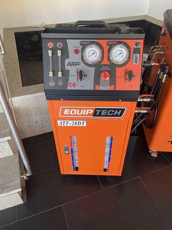 Maquina de trocar oleo das caixas de velocidades automaticas