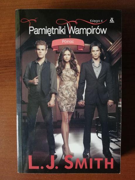 """""""Pamiętniki wampirów. Księga 4: Północ"""" L. J. Smith"""