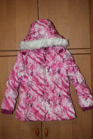 Курточка Weatherproof ( Китай )в снежинки на девочку 6-7 лет