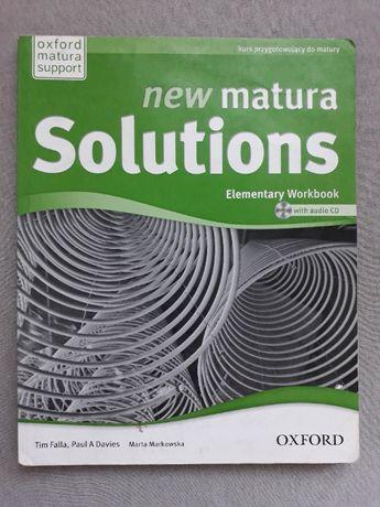 new matura Solutions JĘZYK ANGIELSKI ćwiczenia PUSTE nieuzupełnione