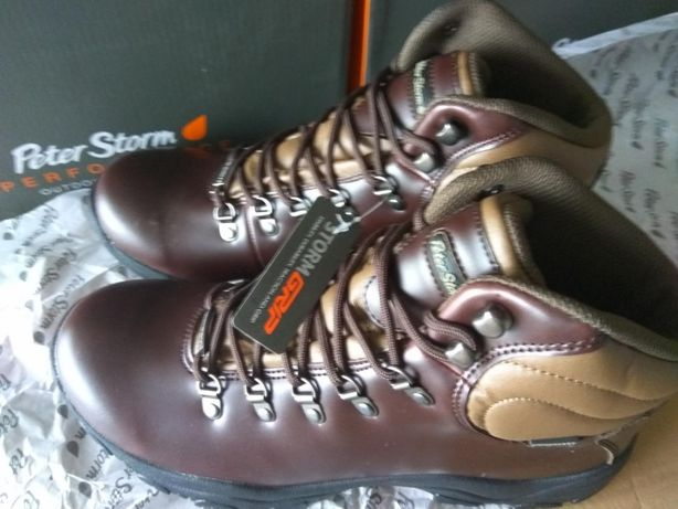 Туристические ботинки PETER STORM размер 44 кожа мембрана