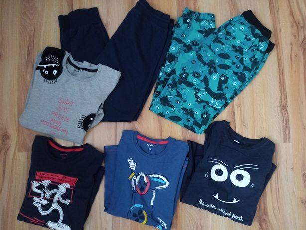 Zestaw ubrań ENDO ,spodnie,bluzki ,rozm 146/152 cm