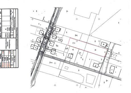 działka budowlana 1684 m2, możliwość podziału na dwie,