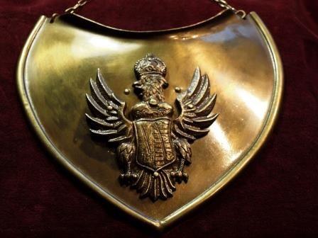 Ryngraf oficera piechoty koronnej 1. poł. XVIII w. do szabel - kopia