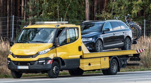 POMOC DROGOWA 24H Laweta Chełmża holowanie auto pomoc
