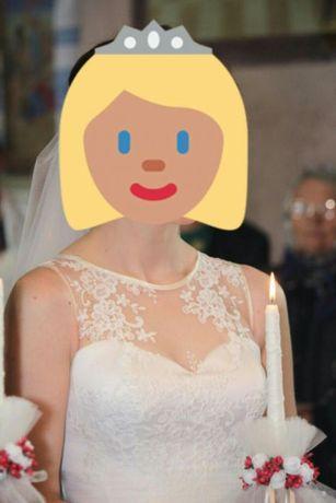 Весільне плаття коляру ivory