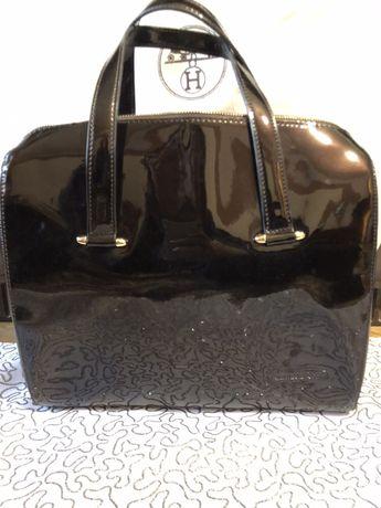 Продам лаковую сумку Antonio Biaggi кожа Антонио Биаджи