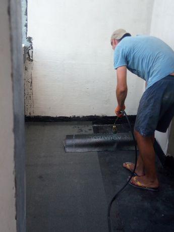 Устранение затеканий, ремонт козырьков балконов, кровельные работы