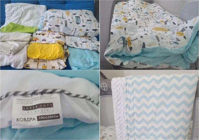Комплект постельных аксессуаров для кроватки 120*60