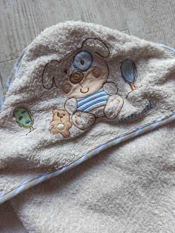 Okrycie kąpielowe z kapturkiem, ręcznik z kapturem dla niemowląt