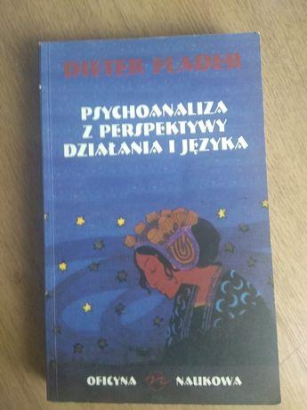 Ksiazka Psychoanaliza z perspektywy dzialania i języka