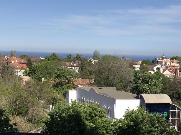 Вид моря Квартира у моря Одесса Французкий Аркадия Приморский Аренда