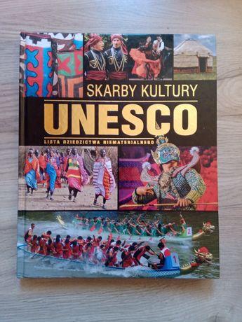 Skarby kultury UNESCO lista dziedzictwa niematerialnego atlas książka