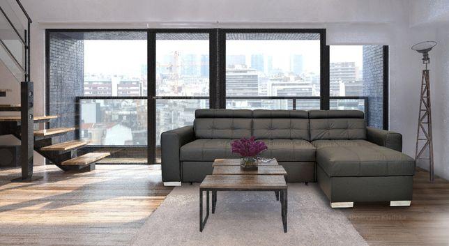 Skóra naturalna 100% NAROŻNIK rogówka sofa 270x167 różne! skórzany